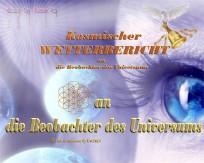 Kosmischer Wetterbericht an Beobachter Nebadonia