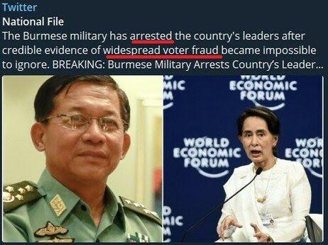 Burma Military Arrest their Leaders || Sierra (NZ)